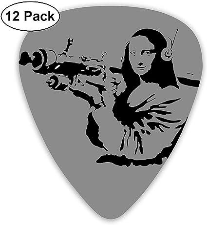 Mona Lisa con púas de guitarra eléctrica Bazooka (paquete de 12 ...