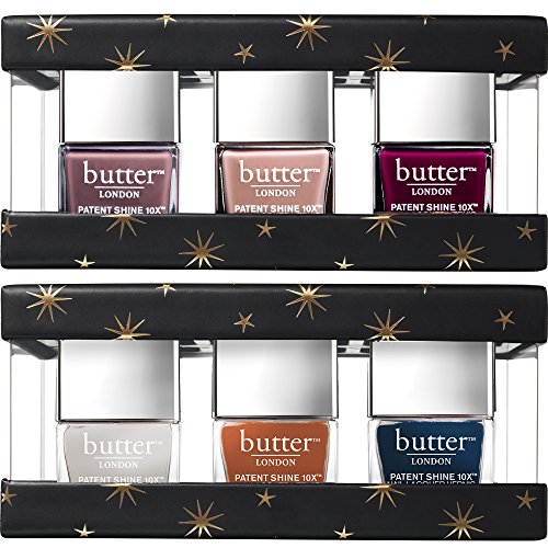 Butter LONDON Eventfull Fashion Size Patent Shine 10X Gift Set