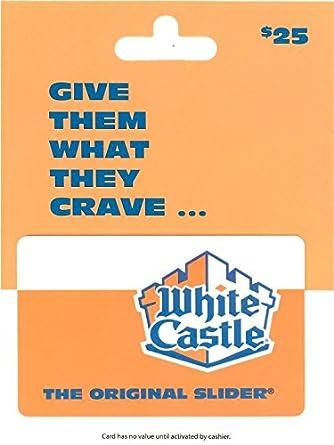Amazon.com: White Castle - Tarjeta de regalo: Tarjetas de regalo