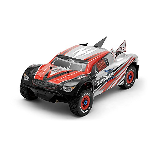th Scale Brushless Powered Ready to Run Racing Short Course Truck Dimension GT3X AFHDS 2.4ghz 3 Channel Radio System RC Remote Control Radio Rally Car ()