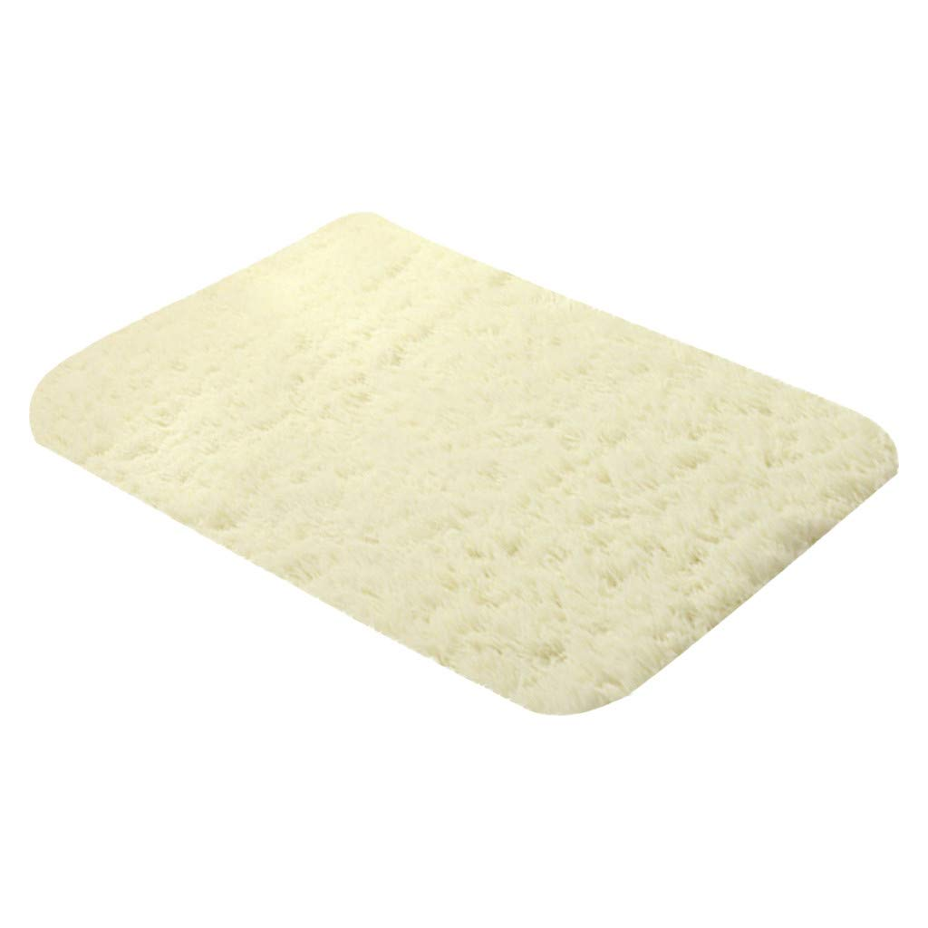 SuperXC Luxury Polyester Shag Area Rug Modern Indoor Fluffy Rugs for Kids, Nursery, Girls, Baby, Living Room