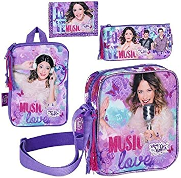 Disney Violetta Mini Bolso de Hombro, Funda para Tablet ...