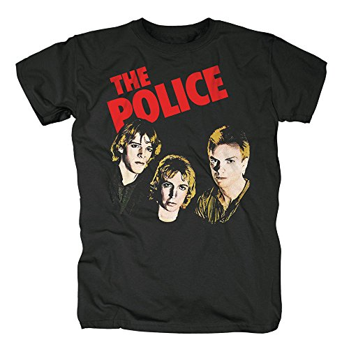 THE POLICE - OUTLANDOS D'AMOUR - OFFIZIELLES HERREN T-SHIRT