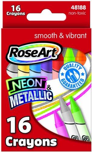 RoseArt 16 Color Metallic Assorted CXW85 product image
