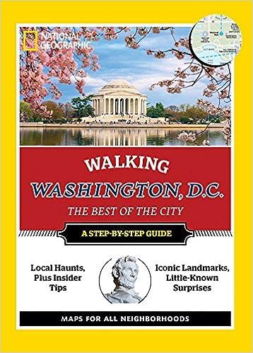 Dc Walking Map on
