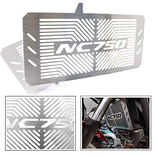 COPART Motorcycle Aluminum Radiator Grille Guard Protection Cover for Honda NC750 NC750S NC750X 2014-2017