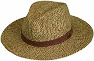 Wallaroo Hat Company Men's Outback Fedora Sun Hat – UPF 50+, Modern, Adjustable, Packable, Designed in Austral