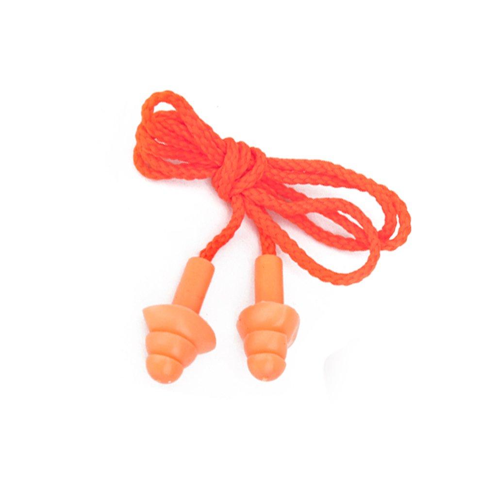 Bouchons d'oreille de Silicone en forme d'arbre avec Fil Ear Plugs Souples Protection Auditive Générique