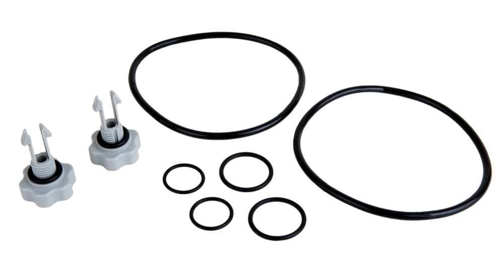 Intex 25074RP Replacement Pool Filter Pump Seals Parts Pack for 2,500 GPH Units and Below - 10460, 10264, 10725, 11330 and 10712