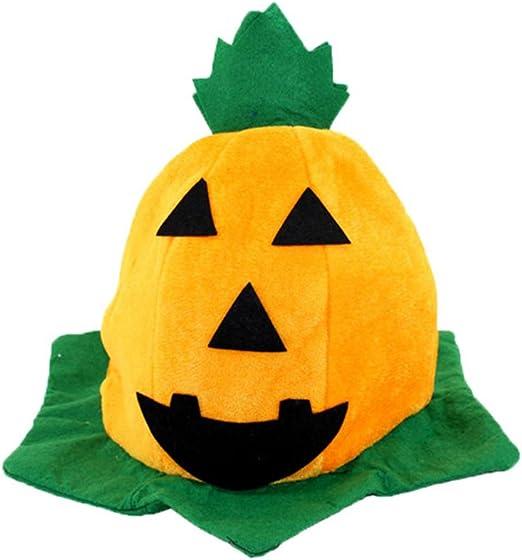 Huhuswwbin Halloween - Sombrero de Calabaza para niños, para ...