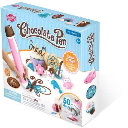 Candy Craft Chocolate Pen, Pink, 8 oz