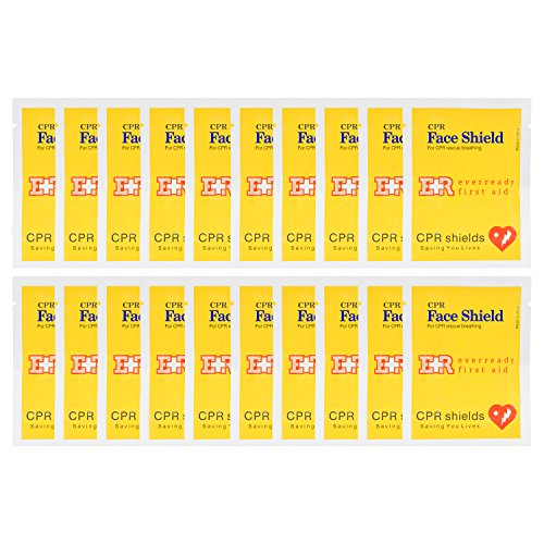 - Ever Ready First Aid CPR Face Shield - 20 Pack