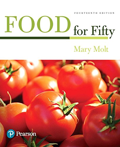Food for Fifty (14th Edition) (What's New in Culinary & Hospitality) by Pearson