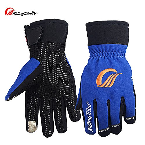 Riding Tribe Motorcycle Racing Glove Waterproof Touch Screen Non-slip Ski Gloves