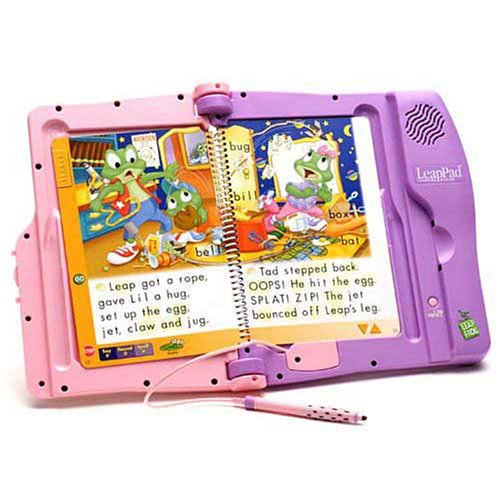 Leapfrog Leappad System (LeapFrog: LeapPad Learning System - Pink-Purple)