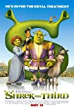 SHREK THE THIRD MOVIE POSTER 2 Sided ORIGINAL 27x40 MIKE MYERS