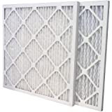 US Home Filter SC80-16X25X1-6 MERV 13 Pleated Air Filter (Pack of 6), 16 x 25 x 1