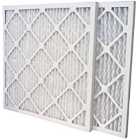 US Home Filter SC80-20X25X1-6 20x25x1 Merv 13 Pleated Air Filter (6-Pack), 20 x 25 x 1