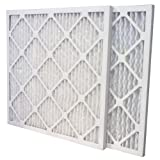 US Home Filter SC80-16X25X1-6 MERV 13 Pleated Air Filter (Pack of 6), 16'' x 25'' x 1''