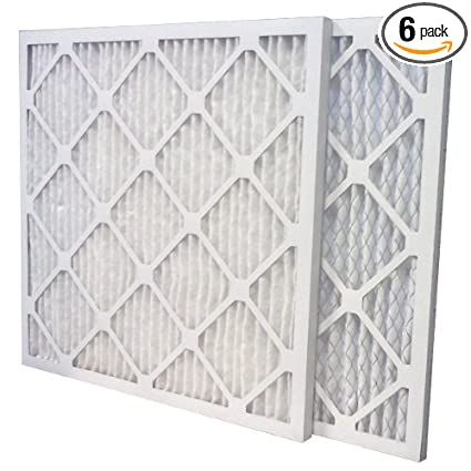 us home filter sc80-24x24x1-6 24x24x1 merv 13 pleated air filter (6 ...