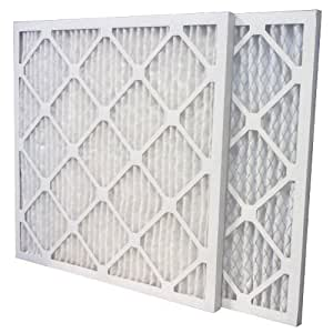 US Home Filter MERV 13 Pleated Air Filter, 6-Pack, 22-Inch by 22-Inch by 1-Inch