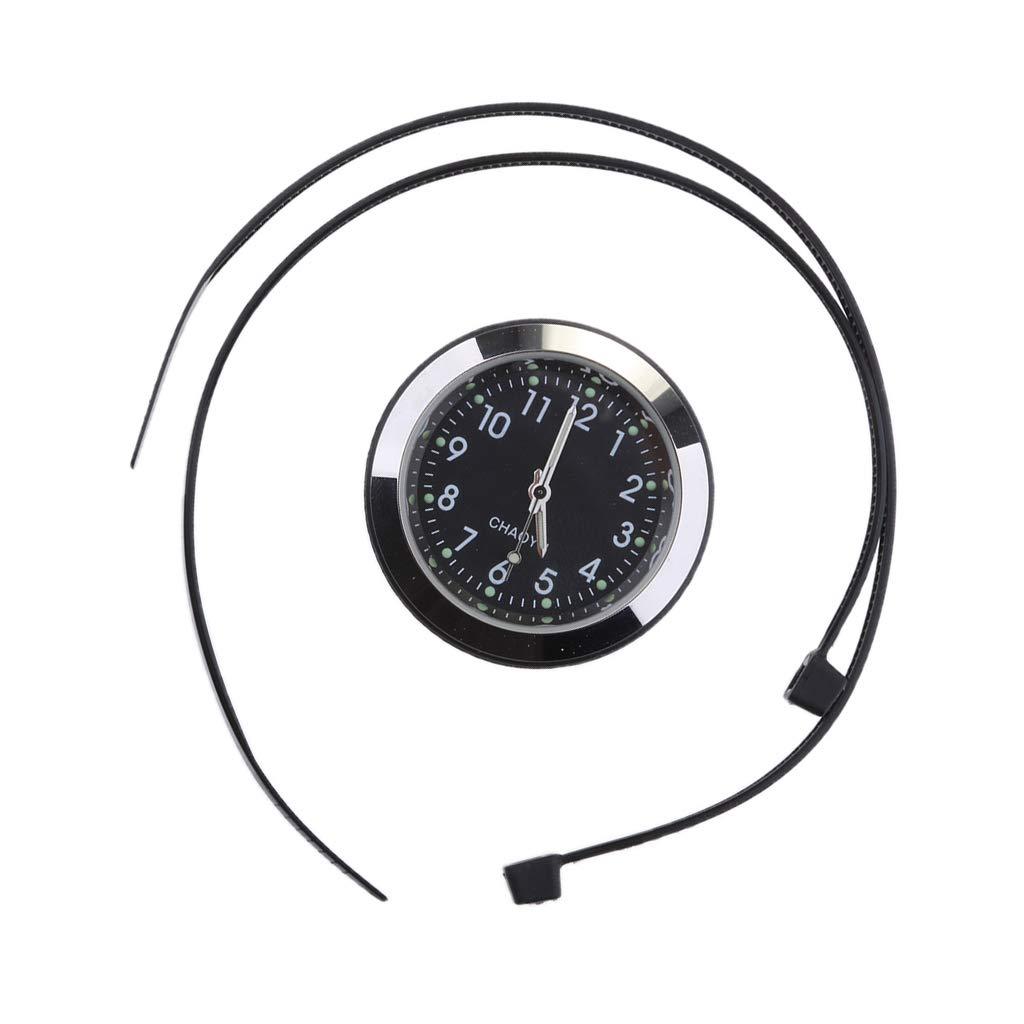 Thermometer Fahrzeuge Motorr/äder Boot Spannung Messger/ät Baoblaze Motorrad Fahrrad Wasserdicht Digital Voltmeter Tester Schwarz