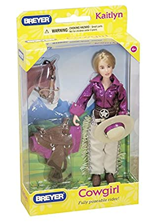 1: 12 Scale Breyer Int/'l 61053 Accessory Consumer Accessories Breyer Classics Kaitlyn Cowgirl Rider for Classics Toy Horses 6 Breyer Classics Horses 6 Reeves