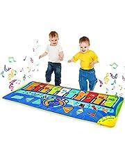 Pianomat, kindermuziekmatten Kinderen Touch Play Muzikaal tapijt Piano Vloermat