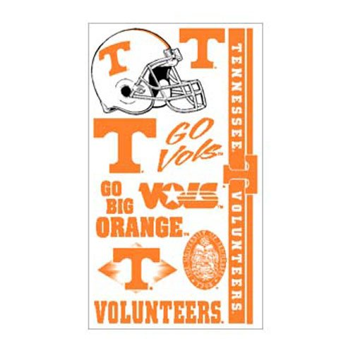 Tennessee Tattoos (WinCraft NCAA University of Tennessee 13885021 Tattoos)