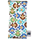 Planet Wise Wipe Pouch, Monkey Fun