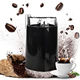 Cheap Electric Coffee Bean Grinder,Stainless Steel with Blades for Spices, Herbs, Nuts, Grains