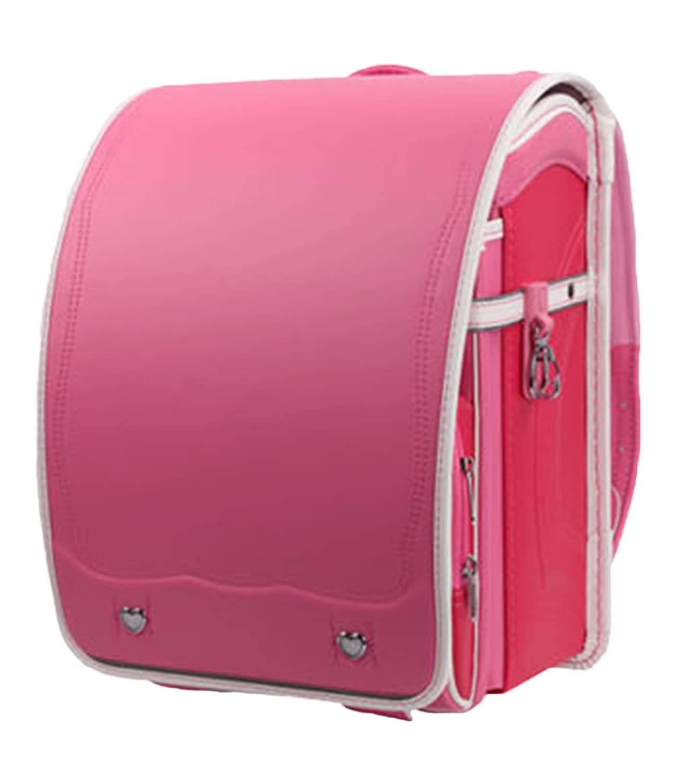 SK Studio Boys' Pu Leather Casual Travel Shoulder School Backpack