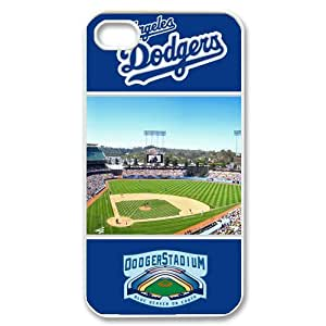 Custom Los Angeles Dodgers Case for iPhone 4 4s