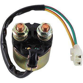 db electrical snd6073 starter solenoid relay for honda atv trx350 rancher  trx400 fourtrax rancher trx400 fourtrax foreman trx450 foreman trx500  fourtrax