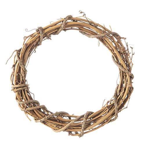 Wreaths Darice (Darice Bulk Buy DIY Crafts Grapevine Wreath Natural 8 inches (6-Pack) GPV8)