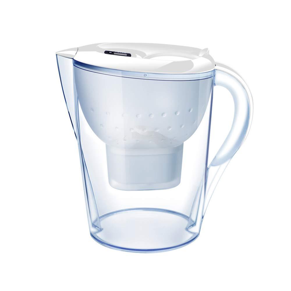LJ2 Brocca Brocca per Filtro Acqua – Senza BPA – Filtro a Carbone Attivo Filtro a Bollitore Metalli e Odori Pesanti, per Filtrazione Casa e Ufficio Prezzi
