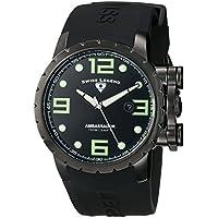 Swiss Legend Men's 30021-PHT-SH Ambassador Analog Display Swiss Quartz Black Watch
