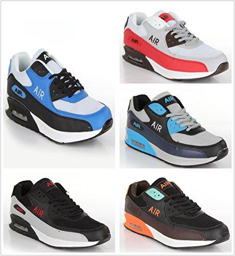 Black Click homme Classiques Red Bottes Shoes Sxgnw8x