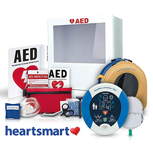 Heartsmart's AED for Business Defibrillator Package