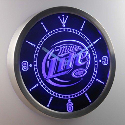 Miller Lite 3D Neon Sign LED Wall Clock - Lite Miller Wall