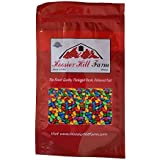 Chocolate covered & candy coated Sunflower seeds, Hoosier Hill Farm, 1.5 lb