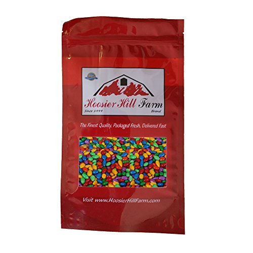 Hoosier Hill Farm Chocolate Covered & Candy Coated Sunflower Seeds, 1.5 Pound by Hoosier Hill Farm