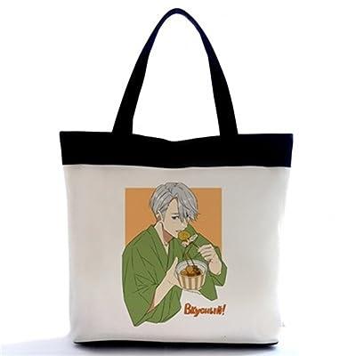 Siawasey Yuri On Ice Anime Cosplay Handbag Messenger Bag Backpack Shoulder Bag high-quality