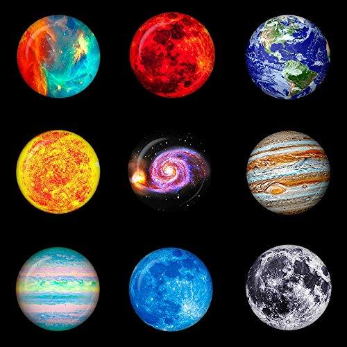 yqs Imanes de refrigerador, 1 Unidad de imanes Luminosos de Luna y ...