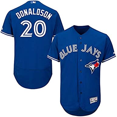 0f9ba8c6965 Image Unavailable. Image not available for. Color  Josh Donaldson Toronto  Blue Jays MLB Majestic Youth Blue Alternate Cool Base Replica Jersey ...