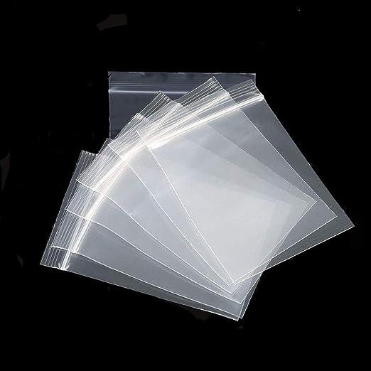Bolsas de plástico transparente resellables, bolsa de ...