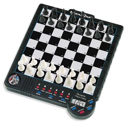 - Excalibur 901E-4 Electronic Mid-Size Chess Game