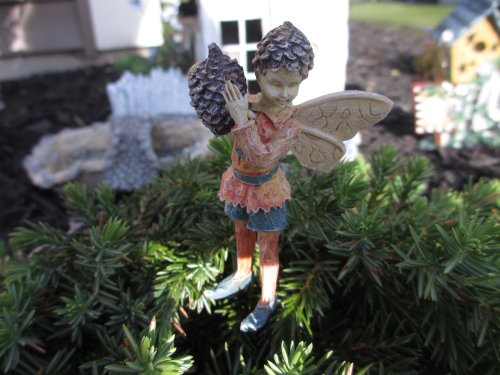 Boy Miniature Garden Fairy Gregory Acorn Hat