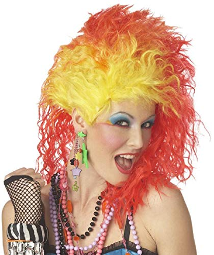 80'S Cyndi Lauper True Colors Pop Singer Costume Wig