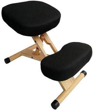 SCDBGY Sillas de Oficina Silla ergonómica de Rodillas Sillas de Oficina for el hogar Cojín Grueso Ajustable Mejorar la Postura Ahora Dolor de Cuello Rodillas cómodas y Espalda Recta: Amazon.es: Hogar
